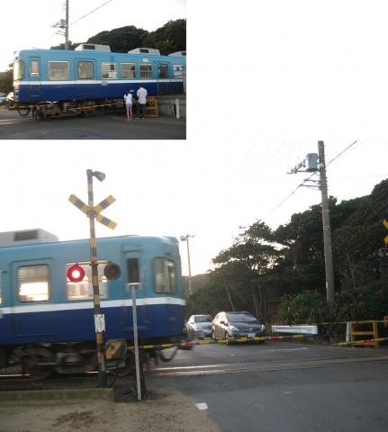 2018年10月7日、銚子電鉄犬吠駅(その2)