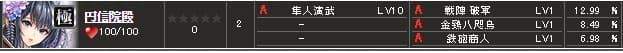 限定極 円信院S