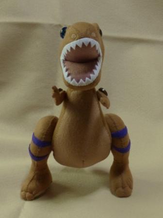 フェルトの恐竜 ティラノサウルス 4