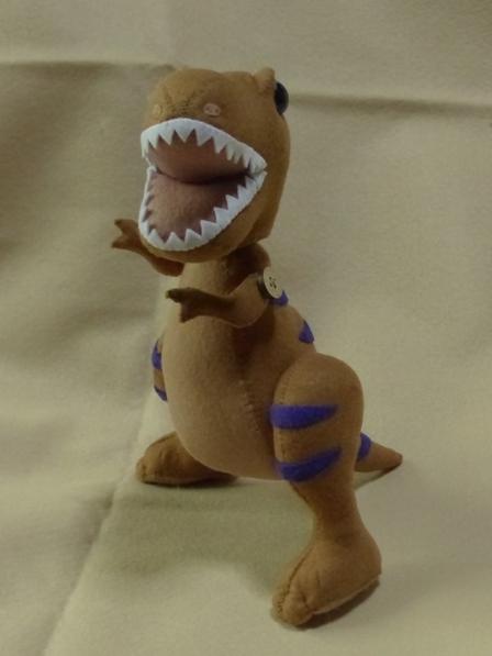 フェルトの恐竜 ティラノサウルス 5