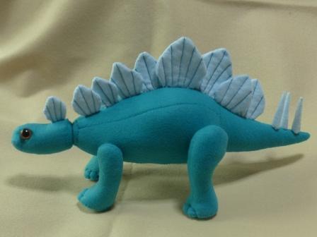 フェルトの恐竜 ステゴサウルス 1