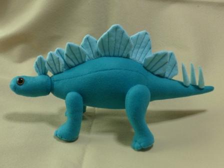 フェルトの恐竜 ステゴサウルス 5