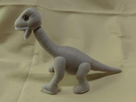 フェルトの恐竜 プラキオサウルス 1