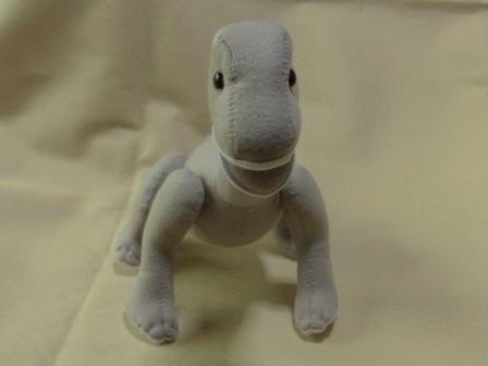 フェルトの恐竜 プラキオサウルス 4
