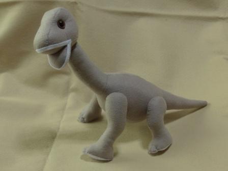 フェルトの恐竜 プラキオサウルス 2
