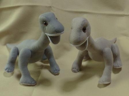 フェルトの恐竜 プラキオサウルス 6