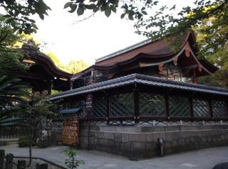 御香宮神社本殿