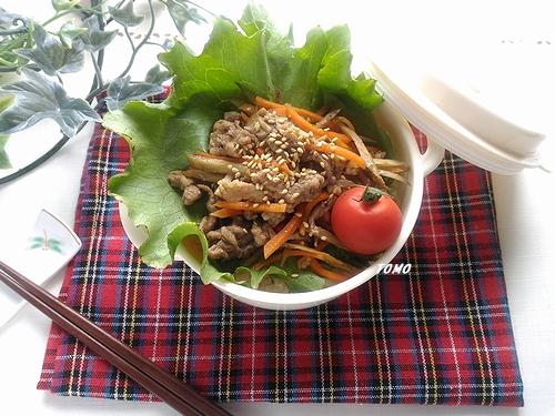 豚肉入りきんぴらごぼう弁当2