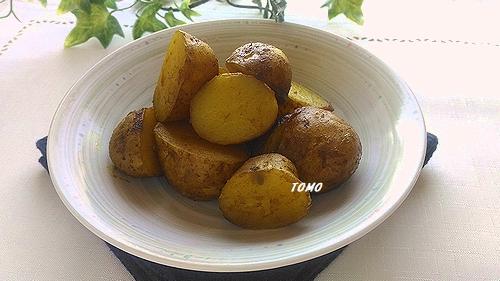 ジャガイモのカレー煮