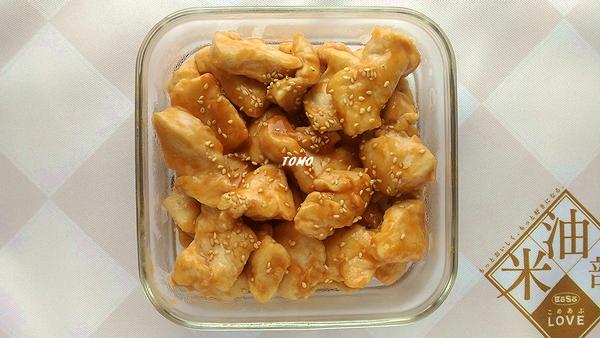 鶏むね肉のケチャップポン酢炒め