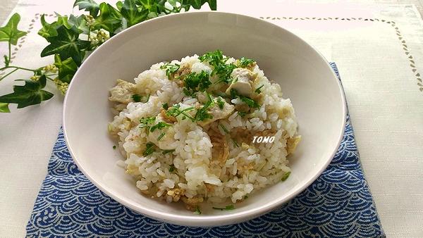 麻婆豆腐風炊き込みご飯