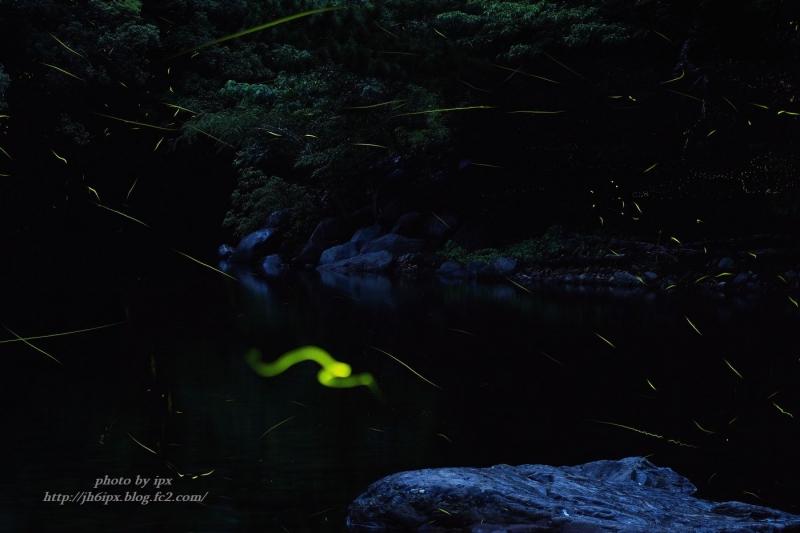 渓谷を色る-1(blog)