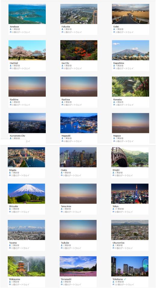 【祝】The Things Network Japanコミュニティが国内24カ所になりました