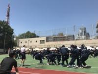 御成門中学校運動会