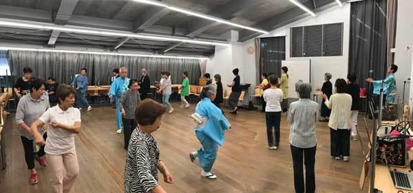 盆踊り練習会第一回