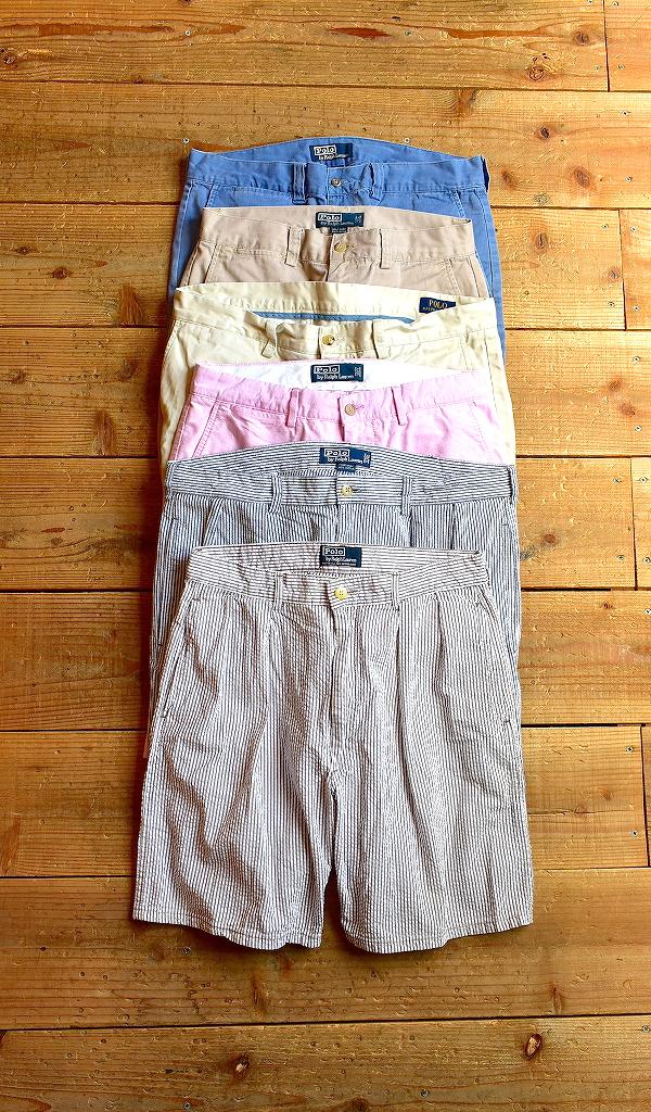 POLO Ralph Laurenポロラルフローレンショートパンツ画像メンズレディースハーフパンツコーデ古着屋カチカチ