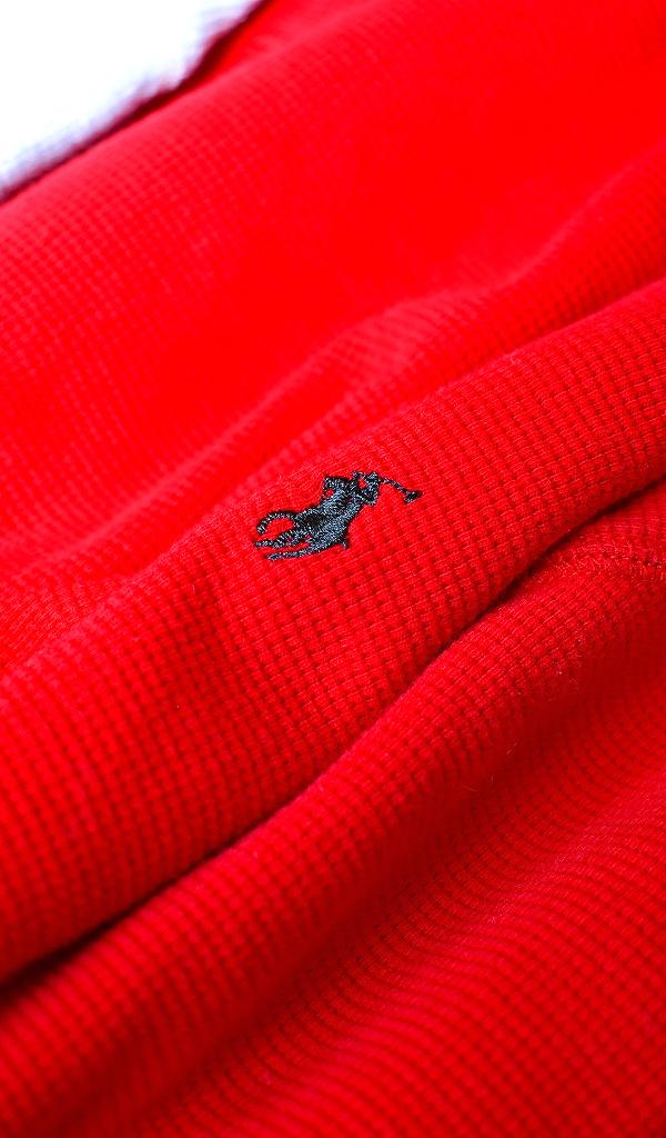POLOポロラルフローレン長袖Tシャツ画像サーマルカットソーUSED@古着屋カチカチ