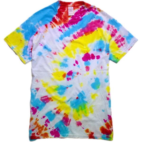 タイダイTie-DyeTシャツ画像ヒッピーサイケデリックTメンズレディースコーデ@古着屋カチカチ