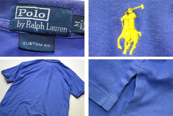 ポロラルフローレンPOLO半袖ポロシャツ画像メンズレディースコーデ@古着屋カチカチ
