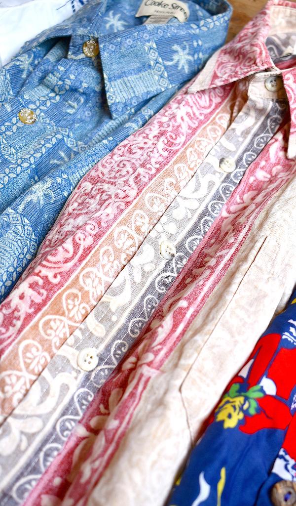 アメリカ製アロハシャツALOHAハワイアンシャツUSA製メンズレディースコーデ@古着屋カチカチ