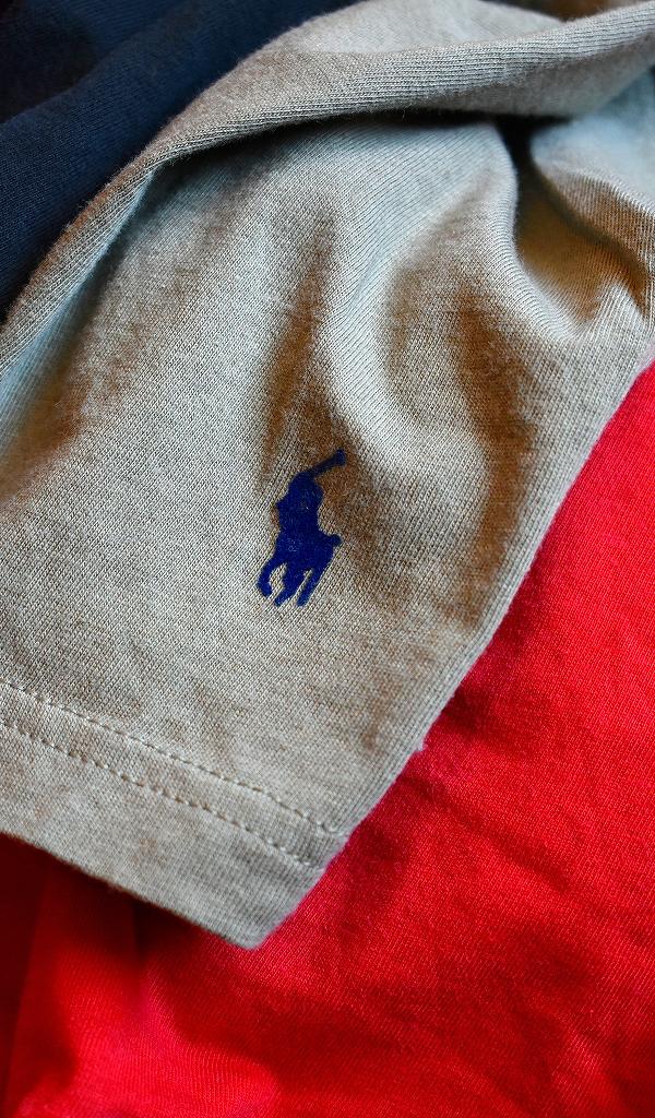 ポロラルフローレンPOLO Ralph LaurenワンポイントTシャツ画像メンズレディースコーデ@古着屋カチカチ