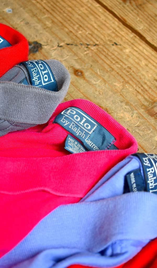みんな大好きラルフローレンPOLO半袖ポロシャツ画像メンズレディースコーデ@古着屋カチカチ