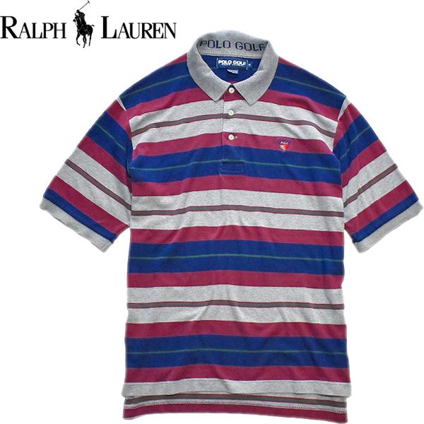 ラルフローレンPOLO半袖ポロシャツ画像メンズレディースコーデ@古着屋カチカチ