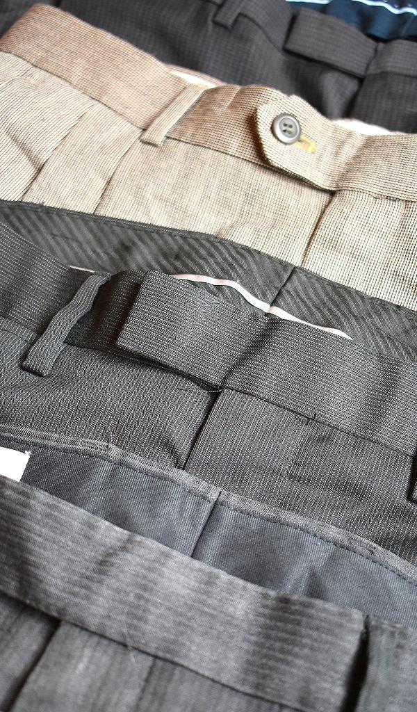 スラックスパンツ画像ドレスパンツUSEDメンズレディーススタイルコーデ@古着屋カチカチ