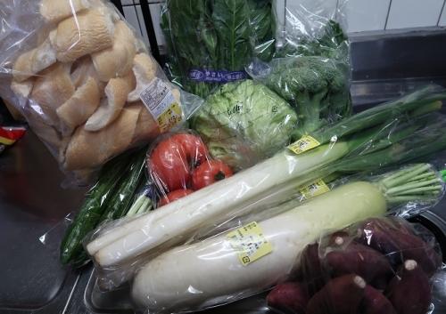 野菜と芋と麩