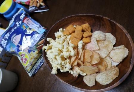 イチゴポテチと忍者ふわ丸