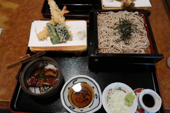 小丼天ざるセット(鰻)
