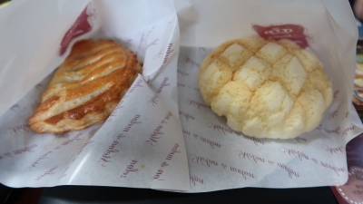 メロンパンとアップルパイ