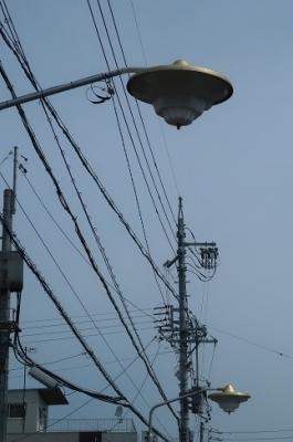 浜名湖 UFO型街灯