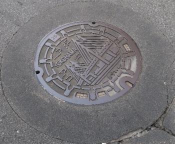 神奈川県横浜市マンホール