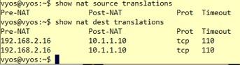 Packet TracerVyOS-nat-017
