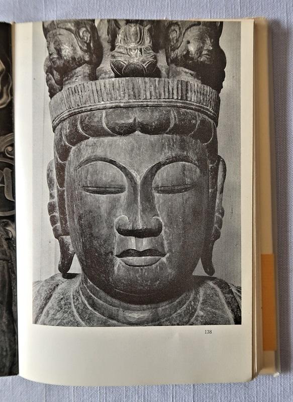 「生きている仏像たち」に掲載されている摩訶衍寺・十一面観音像の写真