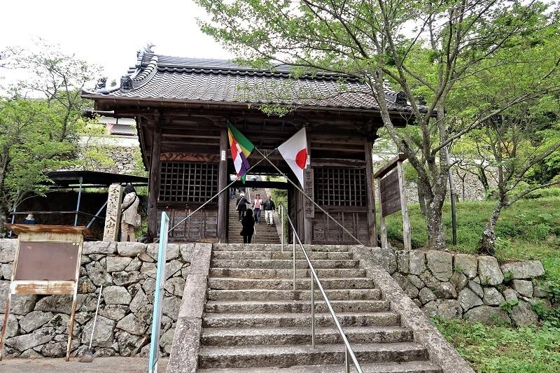 摩訶衍寺・山門