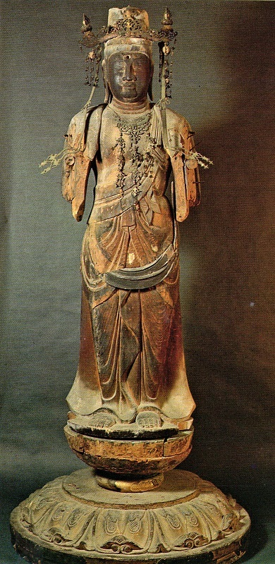 摩訶衍寺・千手観音像(「尾道の文化財」掲載写真)