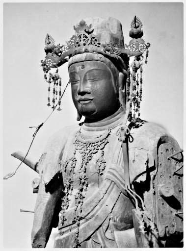 摩訶衍寺・千手観音像(蓮實重康博士旧蔵美術史資料データベース写真)