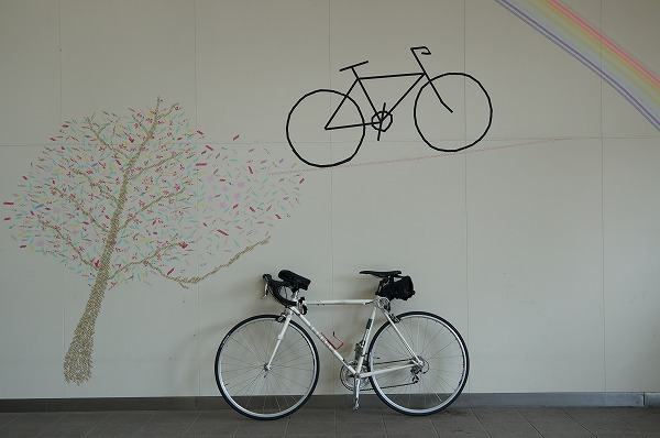 サイクリングステーションにて