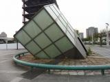 北総鉄道千葉ニュータウン中央駅 謎の斜塔