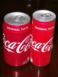 コカコーラ 日米比較1