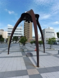 JR日立駅 平和の鐘