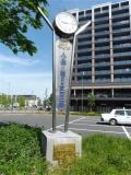 TX三郷中央駅 かいちゃん&つぶちゃん時計台