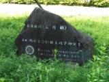 TX三郷中央駅 秋篠宮悠仁親王殿下御誕生記念植樹石碑