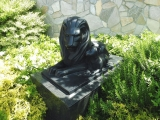 TX三郷中央駅 ライオンズマンションのライオン像