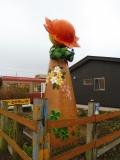 銚子電鉄銚子駅 笑顔の塔 裏