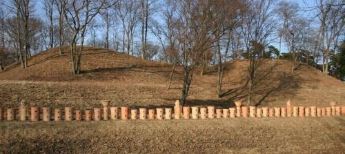 本郷埴輪窯と土師神社諏訪神社古墳11