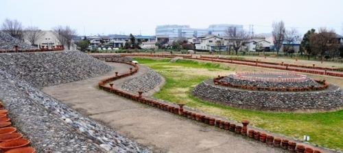 本郷埴輪窯と土師神社諏訪神社古墳12