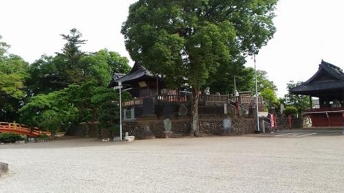 本郷埴輪窯と土師神社諏訪神社古墳18